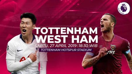 Prediksi Tottenham Hotspur vs West Ham United. - INDOSPORT