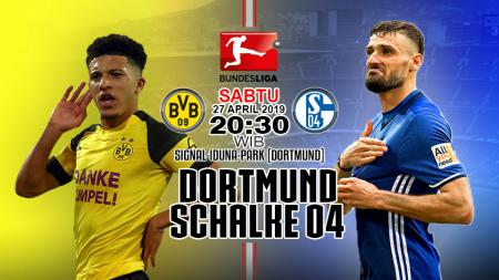 Prediksi pertandingan Dortmund vs Schalke 04. - INDOSPORT