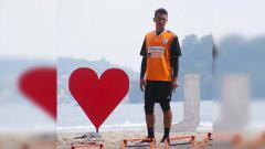 Indosport - Kiper ketiga Persipura Jayapura, Panggih Prio Sembodho