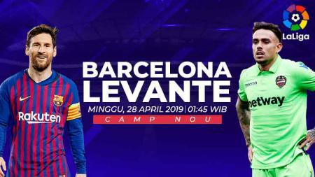 Prediksi Barcelona vs Levante. - INDOSPORT