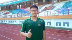 Indosport - Pesepakbola muda Indonesia, Khairul Imam Zakiri. Foto: Shintya Anya Maharani/INDOSPORT
