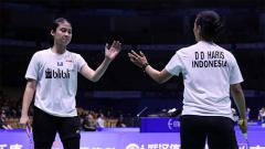 Indosport - Rizki Amelia Pradipta/Della melaju ke babak kedua Indonesia Open 2019 setelah menyingkirkan pasangan China, Li Wen Mei/Zheng Yu. Foto: badmintonindonesia.org