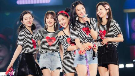 Girlband asal Korea Selatan, Red Velvet. - INDOSPORT