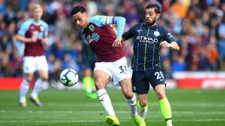 Manchester City mulai rela melepas Leroy Sane ke Bayern Munchen, dan tengah mencari calon pengganti dengan bintang Burnley, Dwight McNeil jadi kandidat terkuat. - INDOSPORT