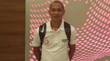 Kurniawan Dwi Yulianto saat ditemui setelah laga eksibisi melawan LaLiga Legends di Shah Alam, Malaysia, Minggu (28/04/19). - INDOSPORT