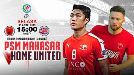 prediksi pertandingan PSM Makasar vs Home United. - INDOSPORT