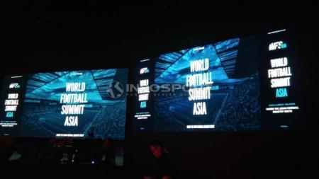 Suasana World Football Summit Asia di Sunway Pyramid, Malaysia, Senin (29/04/19). Foto: Theresia Simanjutak/INDOSPORT - INDOSPORT