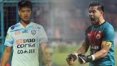 Indosport - Penjaga gawang Persija Jakarta, Andritany Ardhiyasa, menyebut Kurnia Meiga, yang notabene adalah sahabatnya sebagai kiper terbaik dalam starting XI pilihannya.