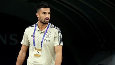 Kiper keturunan Indonesia, Benjamin van Leer yang bergabung ke Ajax Amsterdam lalu dipinjamkan ke NAC Breda. - INDOSPORT