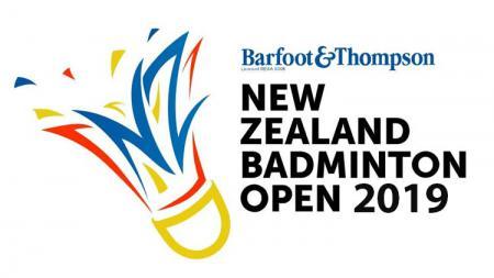 Logo New Zealand Open 2019. - INDOSPORT