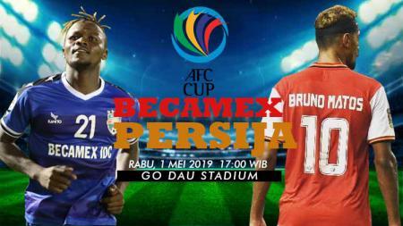 Prediksi pertandingan AFC CUP Becamex vs Persija. - INDOSPORT