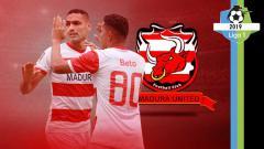 Indosport - Profil tim Madura United Liga 1 2019.