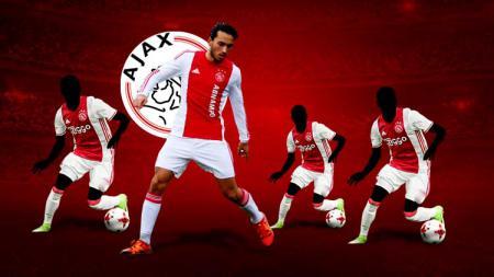 Beberapa pemain Indonesia yang pernah bermain di Ajax Amsterdam, diantaranya Ezra Walian. - INDOSPORT