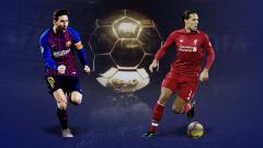 Indosport - Lionel Messi vs Virgil van Dijk disebut-sebut sebagai saingan kuat peraih penghargaan Ballon d'Or.