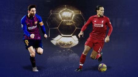 Lionel Messi vs Virgil van Dijk disebut-sebut sebagai saingan kuat peraih penghargaan Ballon d'Or. - INDOSPORT