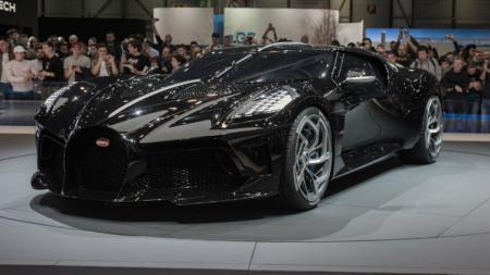 Mobil termahal dunia, Bugatti La Voiture Noire yang akan dimiliki Cristiano Ronaldo. - INDOSPORT