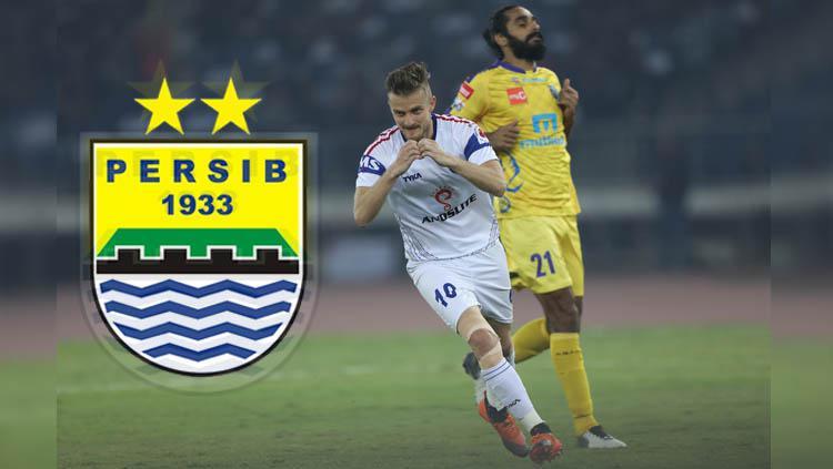 Calon pemain Persib Bandung Rene Mihelic. Copyright: Sports India Show