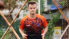 Indosport - Rene Mihelic 'belum menganggap' Persib Bandung sebagai klubnya.