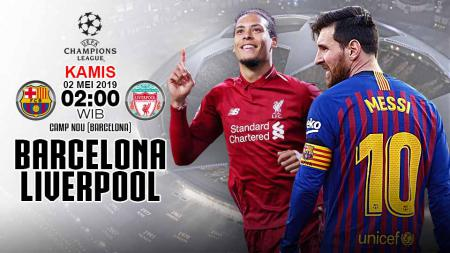 Pertangdingan Barcelona vs Liverpool. Grafis:Yanto/Indosport.com - INDOSPORT