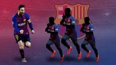 Indosport - Barcelona vs Liverpool: bukan cuma Messi, tiga rekannya juga layak tuai pujian.