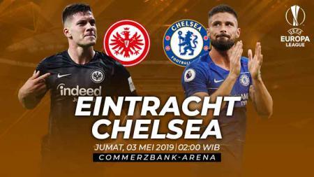 Semifinal Liga Europa antara Eintracht Frankfurt vs Chelsea - INDOSPORT