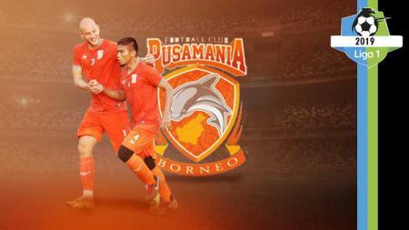 Profil tim Borneo FC Liga 1 2019 - INDOSPORT
