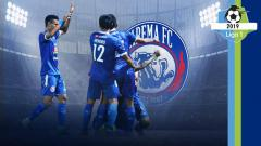 Indosport - Profil Tim Arema FC Liga 1 2019. Foto: Instagram@aremafcofficial