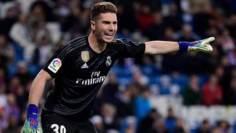 Luca Zidane, putra dari Zinedine Zidane yang juga bagian dari skuat Real Madrid di musim 2018-19 ini. Copyright: JAVIER SORIANO/GETTYIMAGES