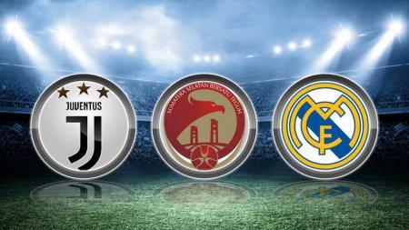 Sriwijaya FC memiliki persamaan dengan Juventus dan Real Madrid Jelang Liga 2 di musim 2019 ini. Grafis: Tim/Indosport.com - INDOSPORT