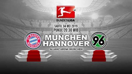 Pertandingan Bayern Munchen vs Hannover 96. Grafis: Tim/Indosport.com - INDOSPORT