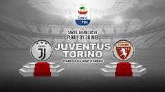 Indosport - Pertandingan Juventus vs Torino. Grafis: Tim/Indosport.com