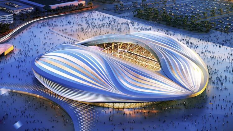 Stadion Al Wakrah Copyright: twitter.com/WomenintheWorld