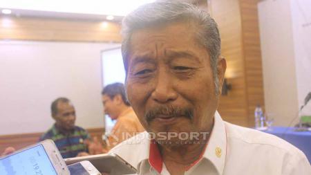Wakil Ketua Bidang Pembinaan Organisasi KONI Pusat, Eman Sumusi. Foto: Sudjarwo/INDOSPORT - INDOSPORT