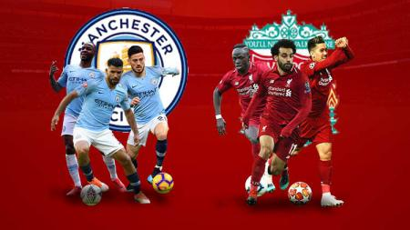Manchester City dan Liverpool. - INDOSPORT