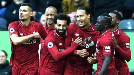 Liverpool dan Manchester City berjuang hingga hari terakhir perhelatan Liga Primer Inggris 2018/19. Laurence Griffiths/Getty Images. - INDOSPORT