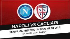 Indosport - Prediksi pertandingan Liga Serie A Italia 2018/19 antara Napoli vs Cagliari.