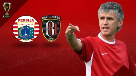 Laga Persija Jakarta vs Bali United jadi nasib Ivan Kolev di ujung tanduk. - INDOSPORT