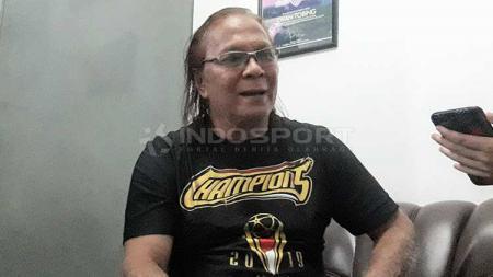 Ovan Tobing salah satu pendiri Arema FC. - INDOSPORT