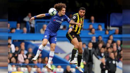 David Luiz telah mendapat kesepakatan 'resmi' untuk bergabung dengan Arsenal. - INDOSPORT