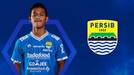 Bek muda Persib Bandung, Indra Mustofa. - INDOSPORT