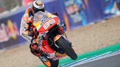 Indosport - Jorge Lorenzo saat di balapan MotoGP Spanyol di Sirkuit Jerez, Minggu (06/05/19).