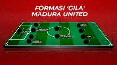 Indosport - Starting Madura United.