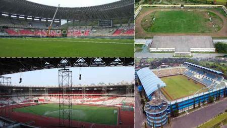 Stadion Papua Bangkit, Stadion Gelora Bung Karno, Stadion Maguwoharjo dan Stadion Gawalise Palu - INDOSPORT
