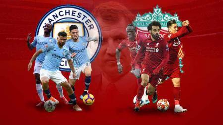 Manchester City dan Liverpool bersaing ketat untuk raih juara Liga Inggris 2018/19 - INDOSPORT