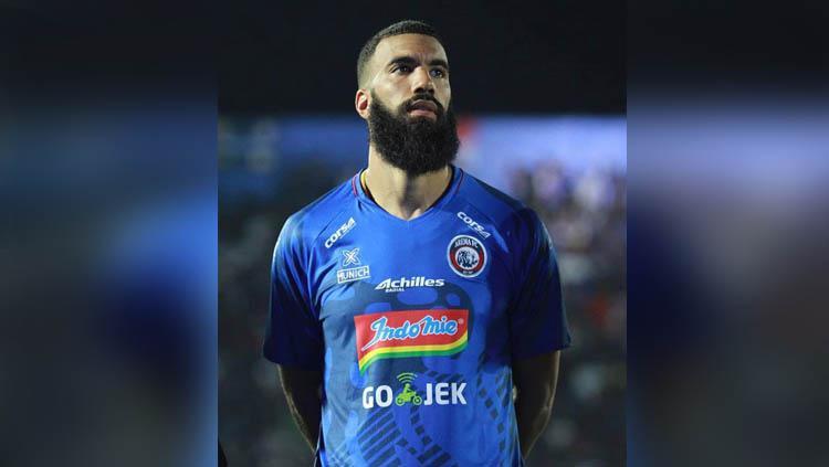 Striker anyar Arema FC, Sylvano Comvalius Copyright: sylvanocomvalius