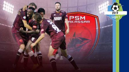 Profil Tim PSM Makassar Liga 1 2019. Grafis: Tim/Indosport.com - INDOSPORT