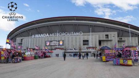 Wanda Metropolitano (Estadio Metropolitano) merupakan perhelatan final Liga Champions 2018/19 yang akan mempertemukan Tottenham Hotspur vs Liverpool. Foto: stadiumdb.com - INDOSPORT