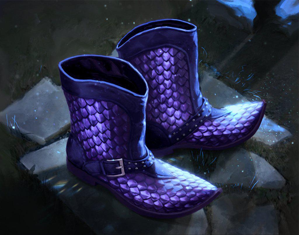 Phase Boots Copyright: Artifact Wiki
