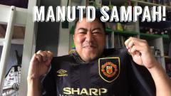 Indosport - Pandji Pragiwaksono penggemar Manchester United.