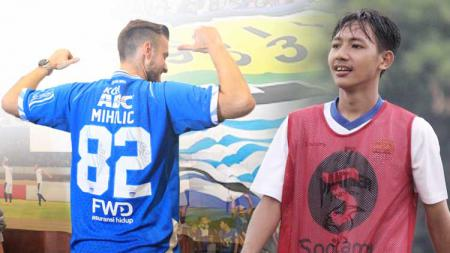 Rene Mihelic dan Beckham Putra Nugraha. - INDOSPORT